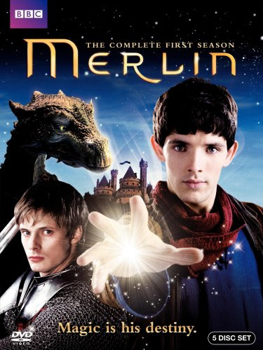 51OEB7nUaZL Merlin (2008) Season One DVD Review