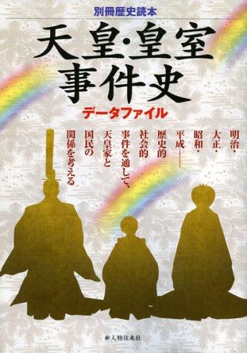 天皇・皇室事件史データファイル (別冊歴史読本 34) (別冊歴史読本 34)