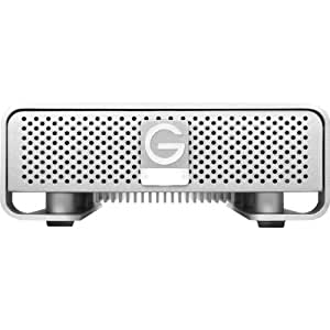 G-Technology G-DRIVE 3TB External Hard Drive w/ eSATA, USB 2.0, Firewire 400, Firewire 800 Interfaces 0G01973