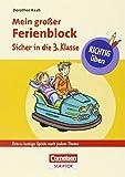 RICHTIG �ben - Mein gro�er Ferienblock - Sicher in die 3. Klasse - Cornelsen Scriptor: Extra: lustige Spiele nach jedem Thema