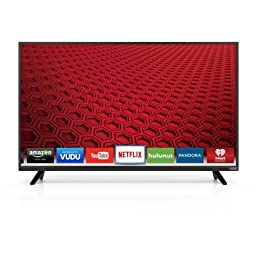 VIZIO E43-C2 43-Inch 1080p Smart LED TV (2015 Model)