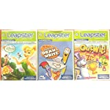 Leap Frog Leapster Learning Game 3 Pack: Disney Fairies, Out Wit, Mr. Pencils Learn To Draw & Write