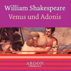 Venus und Adonis Hörbuch