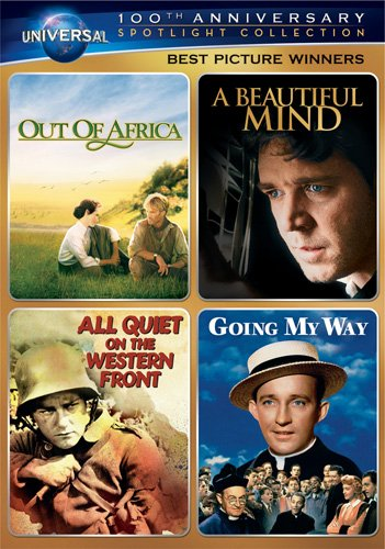 Best Picture Winners Spotlight Collection [Out of Africa, A Beautiful Mind, All Quiet on the Western Front, Going My Way] (Universal's 100th Anniversary) (Best Picture compare prices)