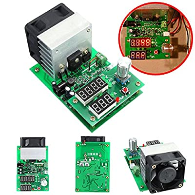 INSMA Multifunction 9.99A 60W 30V Constant Current Electronic Load Battery Capacity Tester Module