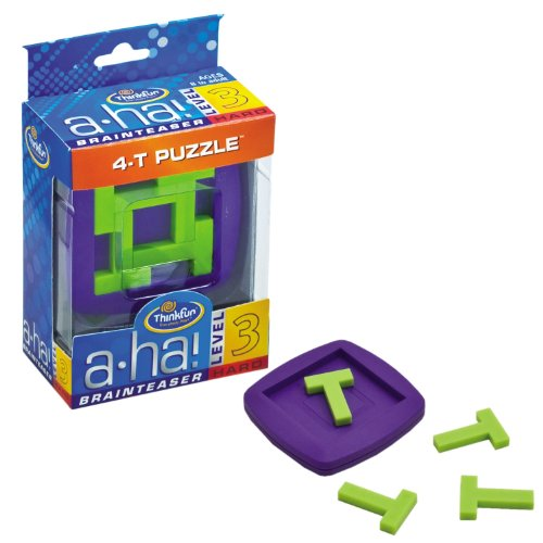 A-ha! 4 T Puzzle Brainteasers - 1