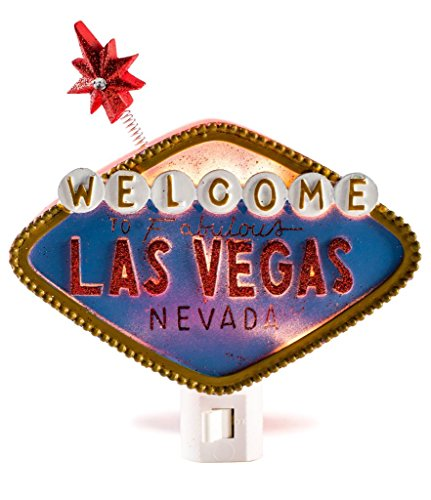 "Kids Fun Nightlights In Many Cute Options Plus A FREE ""SHOP USA"" Brand Eyemask Las Vegas Sign)"