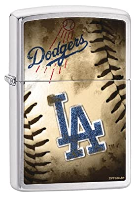 Zippo MLB Brushed Chrome Lighters