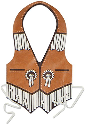 plastic western vest - 1
