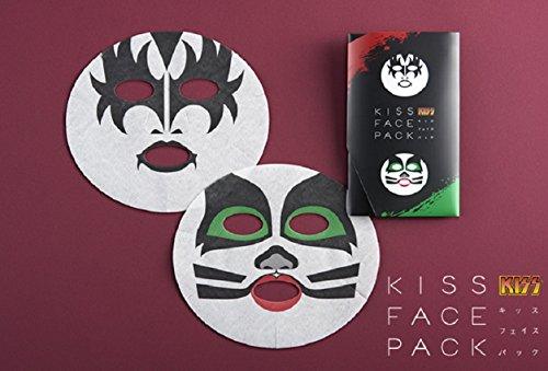 一心堂 KISSFACEPACK KISSフェイスパック ジーン・シモンズ&エリック・シンガー