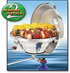 Magma Marine Kettle 2 Combination Stove and Gas Grill, Party Size by Magma Products