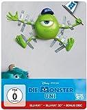 Die Monster Uni (Steelbook) (Bonus-Disc + Blu-ray 2D) [Blu-ray 3D]