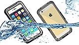 【全4色】【VSTN】Apple iphone 6 4.7 インチ 専用防水防塵ケース iphone 6 4.7 inch  防水ケース 防水 防塵 耐衝撃 iphone6 スマホケース カバー アイフォン6 iPhone ケース 防水ケース (Apple iphone 6 4.7 インチ, ブラック)