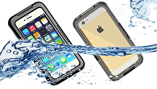 全4色VSTNApple iphone 6 4.7 インチ 専用防水防塵ケース iphone 6 4.7 inch  防水ケース 防水 防塵 耐衝撃 iphone6 スマホケース カバー アイフォン6 iPhone ケース 防水ケース (Apple iphone 6 4.7 インチ, ブラック)