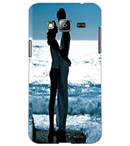 SAMSUNG GALAXY J3 LOVE COUPLE Back Cover by PRINTSWAG