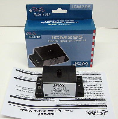 ICM Controls ICM295 IPI Gas Ignition Control Replacement for Carrier LH33WZ510 (Gas Ignition Control compare prices)