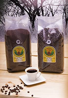 French Roast Doka Coffee / Whole Bean 2.2 Lb - 1kg