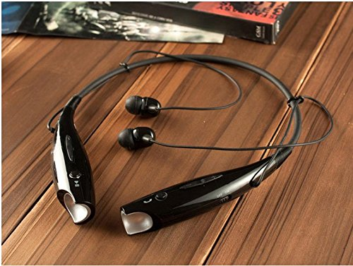 Ainkin® For Lg Tone Wireless Bluetooth Universal Stereo Headset Hbs-730 - Black