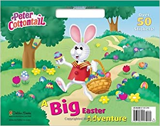 A Big Easter Adventure (Peter Cottontail) (Big Coloring Book)
