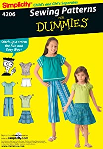 Simplicity Sewing Pattern 4206 Child/Girl Separates, HH (3-4-5-6)