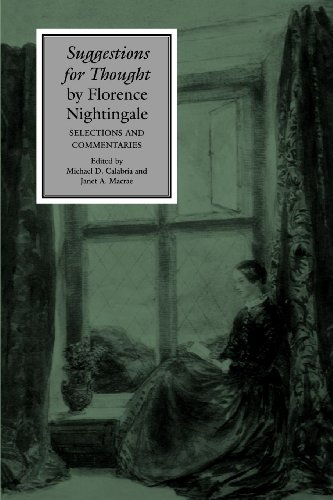 Suggestions for Thought by Florence Nightingale: Selections and Commentaries (Studies in Health, Illness, and Caregiving