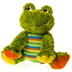 Patchwork Plush Frog