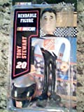 "Nascar Bobble Dobbles ""Tony Steart"" Bendable Figure with Helmet, Home Depot Uniform"