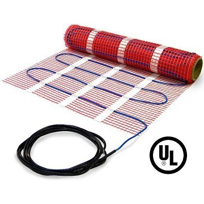 40 sqft HeatTech 120V Electric Tile Radiant Floor Heating Mat (Tile Floor Heater compare prices)