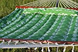 Exclusive Large Heavy Duty Double Quilted Hammock with Pillow - Seahorse
