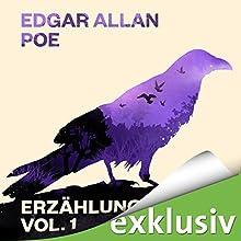 Edgar Allan Poe: Erzählungen 1 Hörbuch von Edgar Allan Poe Gesprochen von: Erich Räuker