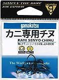 がまかつ(Gamakatsu) カニ専用チヌ(黒) 4号