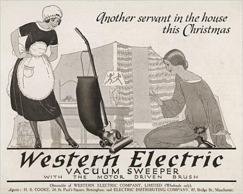 Photographic Print Of Advert Vacuum Cleaner