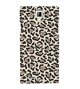 Leopard Pattern Cute Fashion 3D Hard Polycarbonate Designer Back Case Cover for Micromax Canvas Xpress A99 :: Micromax A99 Canvas Xpress