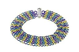Weave Got Maille European 4-in-1 Chain Maille Bracelet Kit, Iris