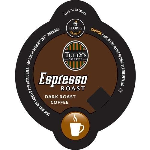 Tully'S Espresso Roast, Vue Cups For Keurig Vue Brewers (96 Count)