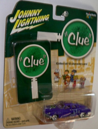 Johnny Lightning Clue 1948 Tucker Diecast Car W/card