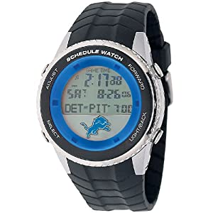 NFL Mens NFL-SW-DET Schedule Series Detroit Lions Watch by Game Time