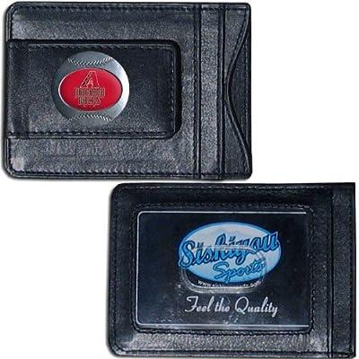MLB Arizona Diamondbacks Leather Cash and Card Holder