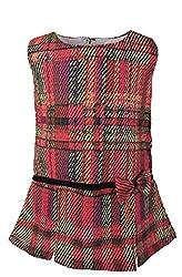 Faye Multichecks Pleated Dress 5-6Y