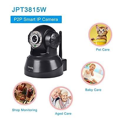 TENVIS-JPT3815W-Wi-Fi-HD-P2P-Pan/Tilt-Network-Camera