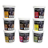 Wood Smoking Chips Variety Gift Set - Set of 8 Pints (Oak, Apple, Cherry, Pecan, Maple, Bourbon, Hickory, Mesquite)