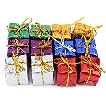 Alcoa Prime New Christmas Tree Ornaments Xmas Tree Hanging Gift Box Decoration 12 Pcs