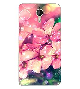 PrintDhaba Flowers D-2167 Back Case Cover for LETV LE 1 PRO ULTRA (Multi-Coloured)