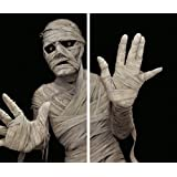 "WOWindow Posters Menacing Mummy Halloween Window Decoration Two 34.5""x60"" backlit posters"