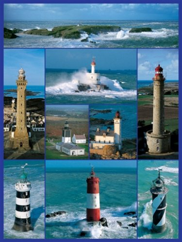 Cheap Ravensburger Lighthouses of Brittany Jigsaw Puzzle 1000pc (B000E8ZO0E)