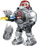 Remote Control Robot - Fires Discs, D...