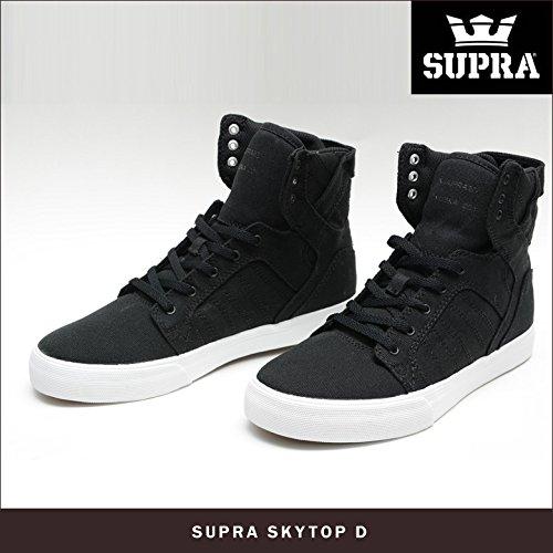 [スープラ] SUPRA SKYTOP [D] BLACK/WHITE 10(28cm)