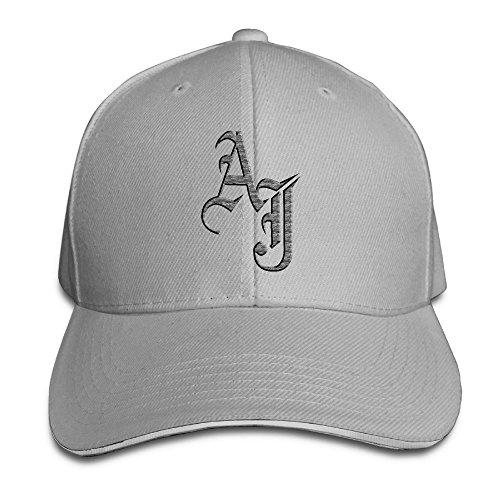feruch AJ Styles WWE Adjustable snapback Peaked Baseball Hats Ash