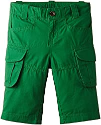 United Colors of Benetton Baby Boys Shorts (15P4AWZ596E0G03Q0Y_Shamrock Green_0Y)