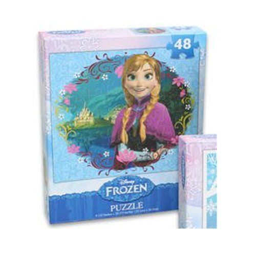 1 Disney Frozen Anna Jigsaw Puzzle - 48 pieces
